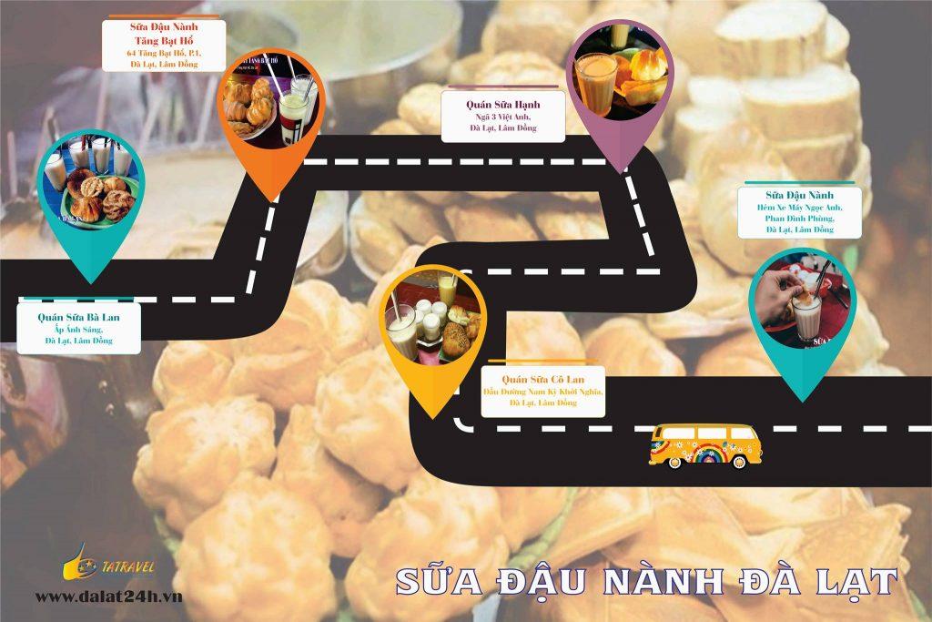 Địa điểm ăn uống Đà Lạt: các quán sữa đậu nành ngon nhất của Đà Lạt