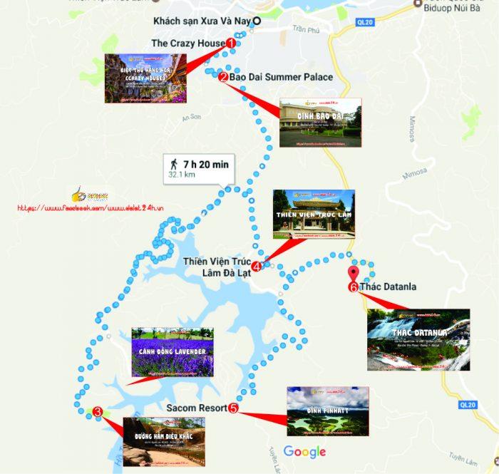 Lịch trình du lịch Đà Lạt tháng 12 - Tuyến địa điểm du lịch Đà Lạt đi hồ Tuyền Lâm