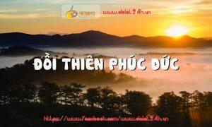 Tour du lịch Đà Lạt 1 ngày - Đồi Thiên Đức