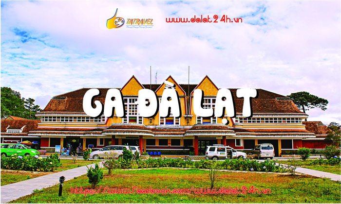 Ga Đà Lạt - Địa điểm du lịch Đà Lạt - datphongdalat.vn