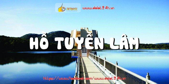 Hồ Tuyền Lâm - Tour Đà Lạt 1 ngày giá rẻ - datphongdalat.vn