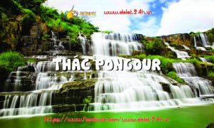 Tour du lịch Đà Lạt 1 ngày - Thác Pongour