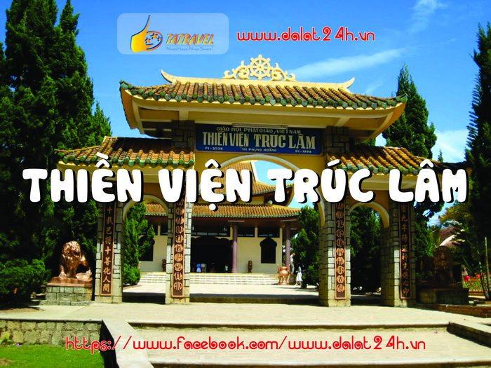 Thiền viện Trúc Lâm Đà Lạt - Tour Đà Lạt 1 ngày giá rẻ - địa điểm du lịch Đà Lạt -datphongdalat.vn