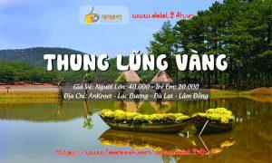 Tour du lịch Đà Lạt 1 ngày - Thung Lũng Vàng Đà Lạt