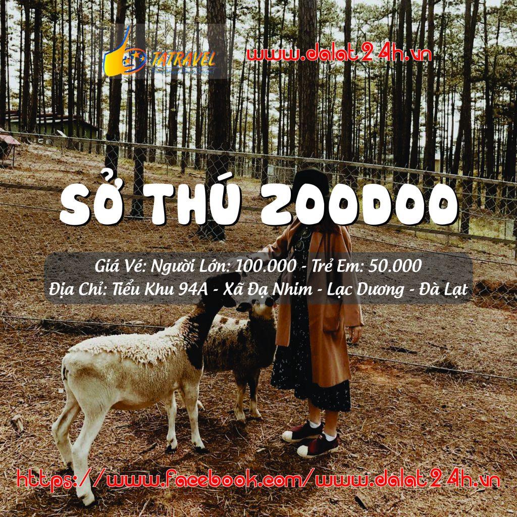zoodoo Đà Lạt - Tour tham quan sở thú zoodoo Đà Lạt 1 ngày - datphongdalat.vn-01