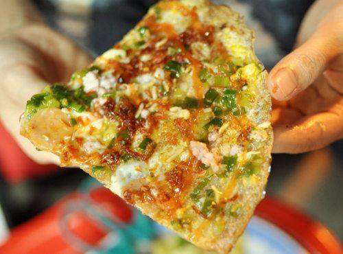 Địa điểm ăn uống Đà Lạt: bánh tráng nướng