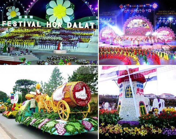 Lễ khai mạc Festival hoa Đà Lạt 2017