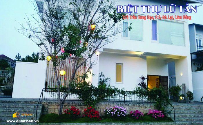 Biệt thự Đà Lạt cho thuê - villa Đà Lạt homestay Lữ Tấn 02