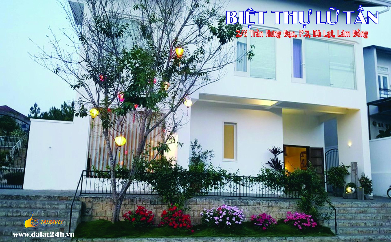 Biệt thự Đà Lạt cho thuê - villa Đà Lạt homestay Lữ Tấn