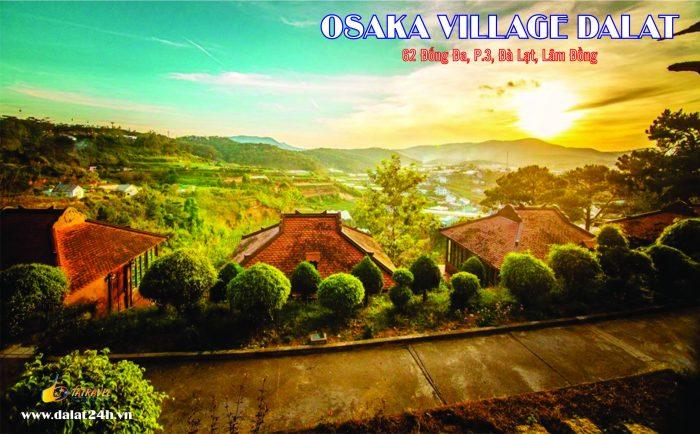 làng biệt thự Đà Lạt Osaka - Osaka Villa- Đà Lạt