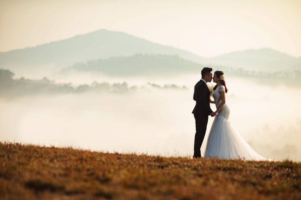 lịch trình du lịch Đà Lạt tháng 12 - địa điểm chụp hình cưới Đà Lạt tuyệt đẹp