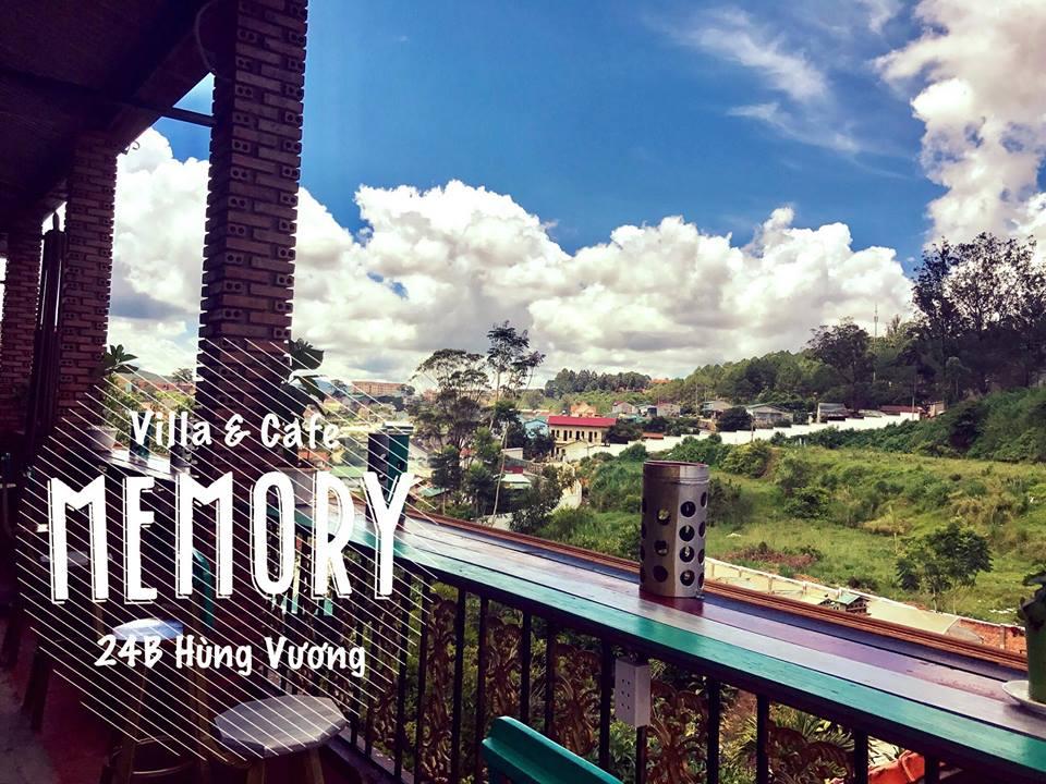 Memory cafe Acoustic - top 10 quán cafe Đà Lạt tuyệt đẹp