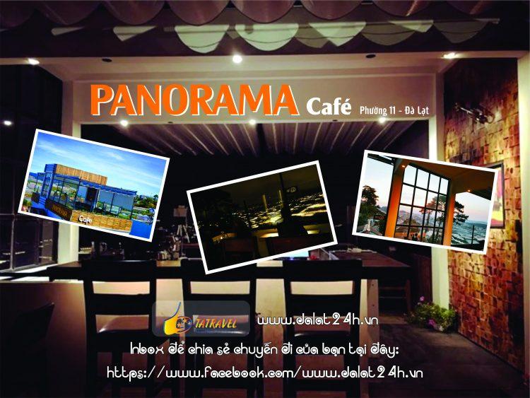 Top 10 quán cafe Đà Lạt tuyệt đẹp - Panorama cafe Đà Lạt- datphongdalat.vn