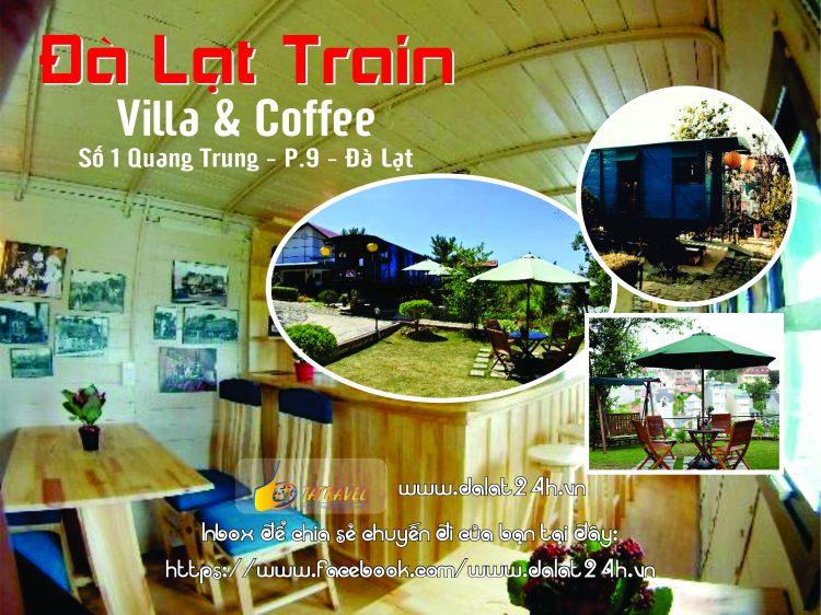 Top 10 quán cafe Đà Lạt tuyệt đẹp - Train cafe Đà Lạt- datphongdalat.vn
