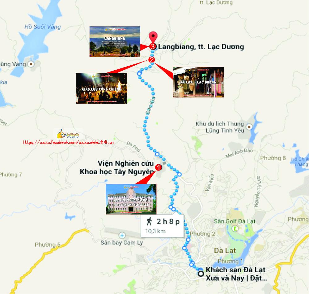 Tuyến Đông Bắc Đà Lạt- Du lịch Đà Lạt tháng 1 - datphongdalat.vn