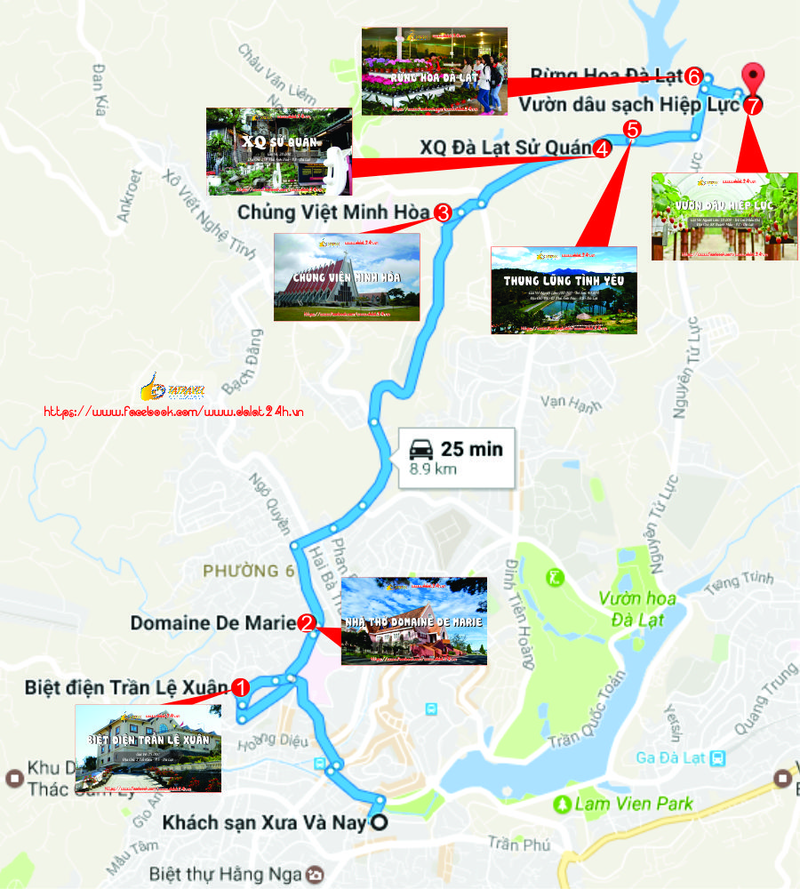 Tuyến Tây Bắc Đà Lạt- Du lịch Đà Lạt tháng 1 - datphongdalat.vn