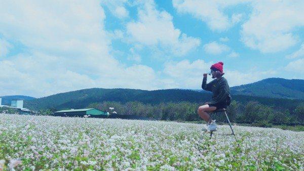 Tour ngoại thành Đà Lạt 1 ngày - cánh đồng hoa tam giác mạch - datphongdalat.vn-1