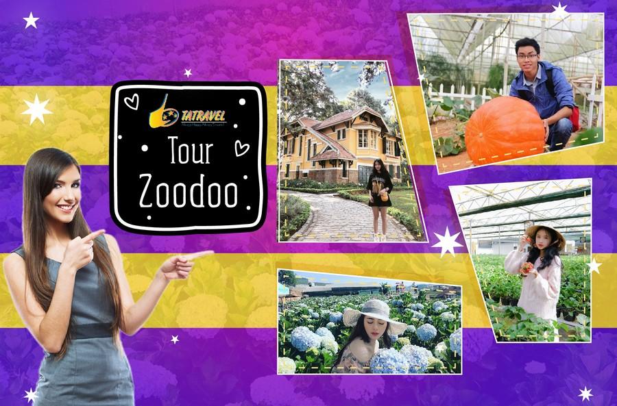 Tour Zoodoo Đà Lạt