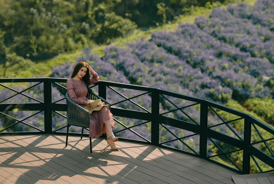 F cánh đồng hoa Đà Lạt -Top 10 quán cafe Đà Lạt đẹp nhất
