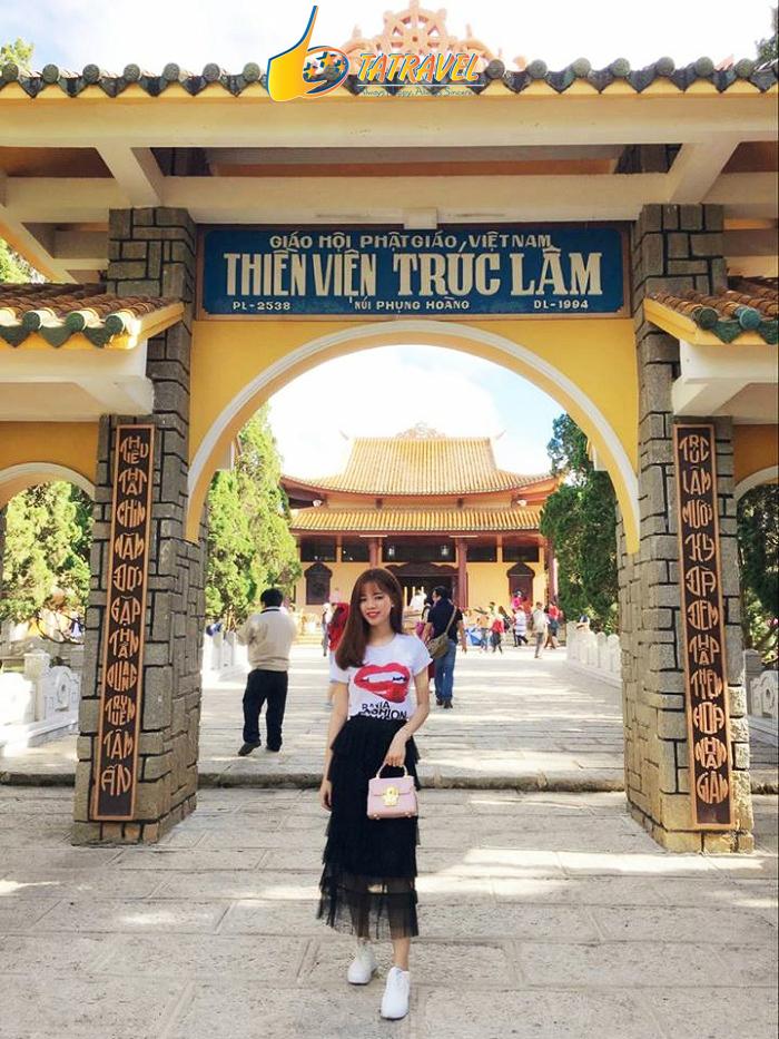 Thiền viện Trúc Lâm -Top 5 ngôi chùa đẹp nhất Đà Lạt - Lâm Đồng không thể bỏ lỡ