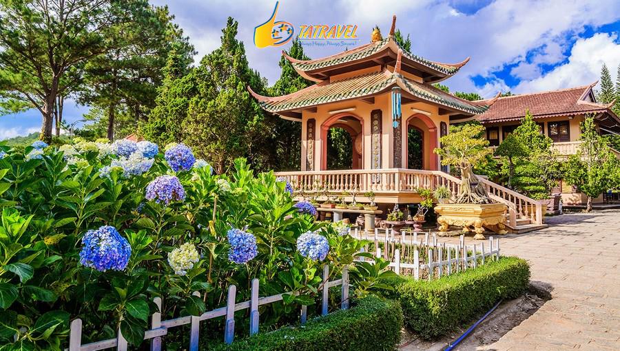 Thiền viện Trúc Lâm - Top 5 ngôi chùa đẹp nhất Đà Lạt - Lâm Đồng không thể bỏ lỡ