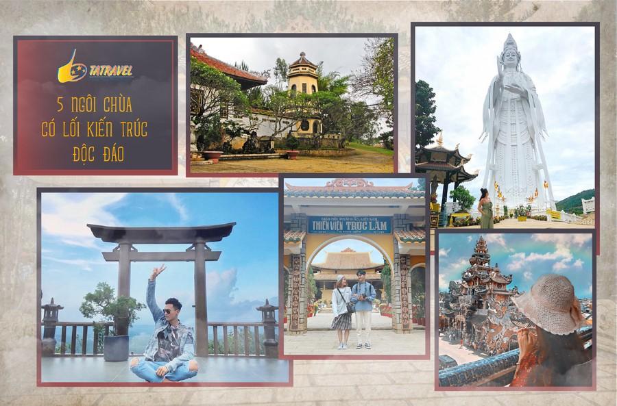 Top 5 ngôi chùa đẹp nhất Đà Lạt - Lâm Đồng không thể bỏ lỡ