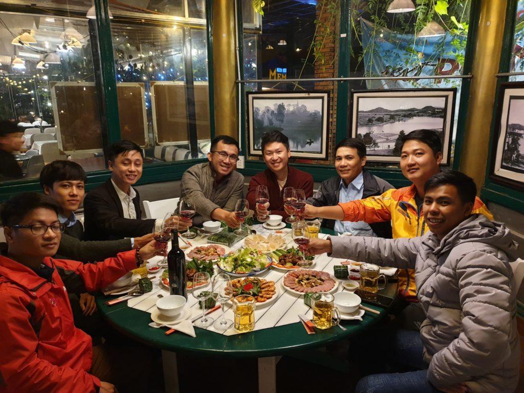 lẩu cá tầm - nhà hàng Memory Đà Lạt -01