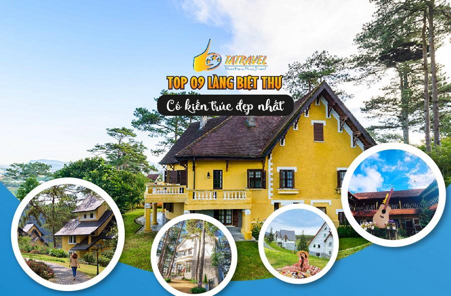 Top 9 làng biệt thự Đà Lạt đẹp nhất 2021