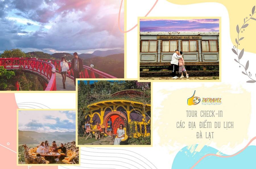 Tour Đà Lạt 1 ngày Lost in Da Lat trải nghiệm check-in các địa điểm du lịch Đà Lạt