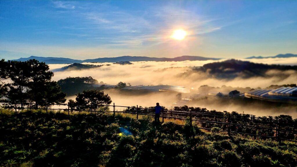 Đồi mây Đà Lạt được xem là top 1 các địa điểm săn mây Đà Lạt 2021