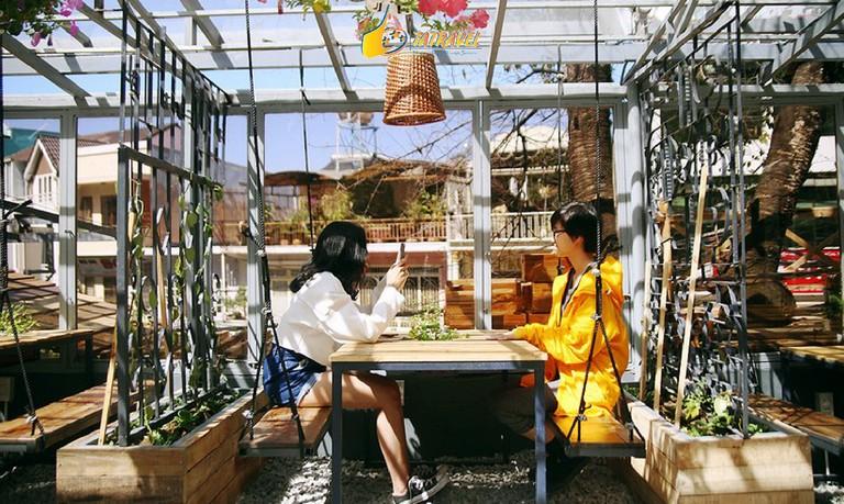 Top 10 quán cafe Đà Lạt đẹp nhất 2021-30