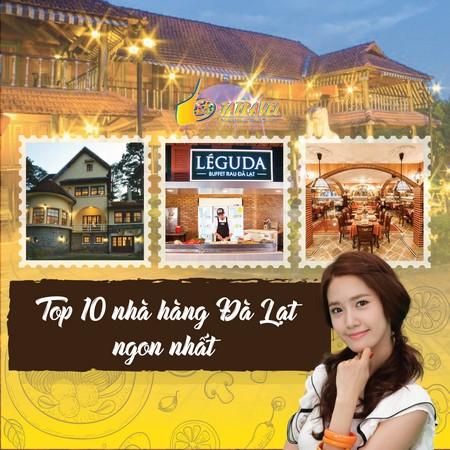 Top 10 nhà hàng Đà Lạt ngon nhất 2021