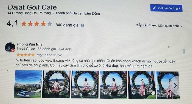 Quán cafe Dalat Golfe - Top quán cafe Đà Lạt đẹp nhất 2021