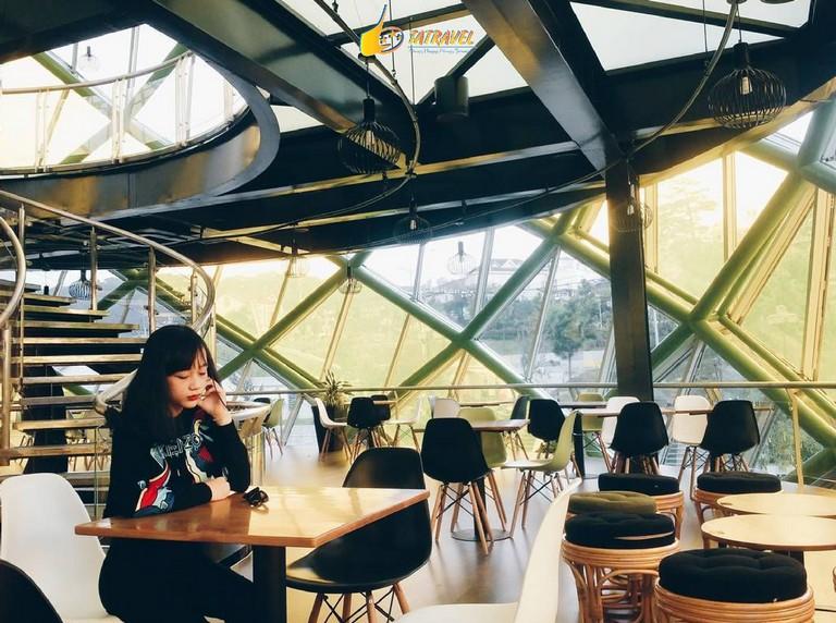 Top 10 quán cafe đẹp nhất Đà Lạt - Doha cafe Đà Lạt- datphongdalat.vn -1