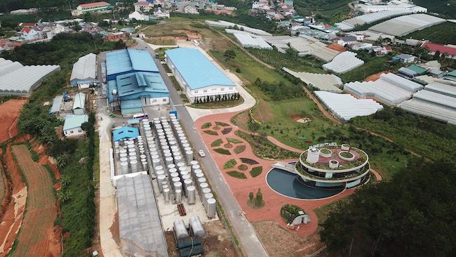 Nhà máy rượu vang Đà Lạt rộng hơn 5ha
