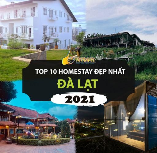 Top 10 Homestay Đà Lạt đẹp nhất 2021, cực chất, lãng mạn