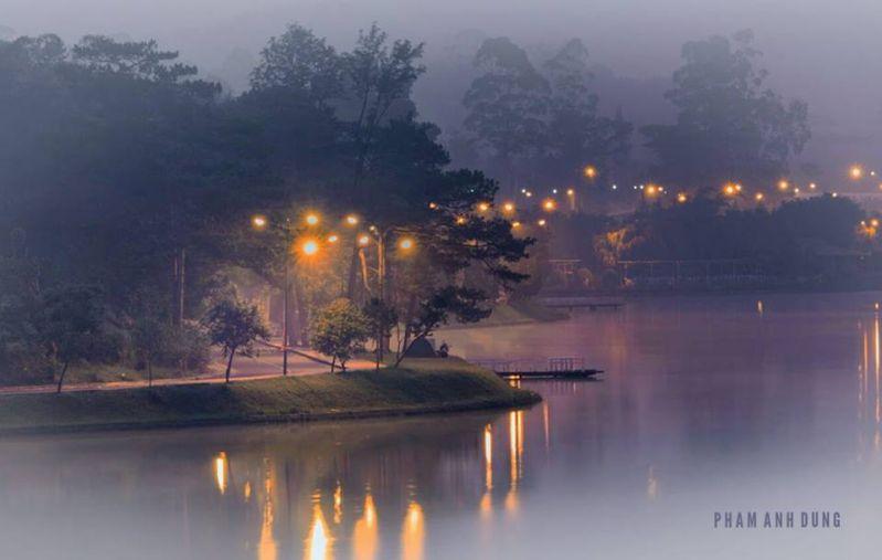 Hồ Xuân hương Du lịch Đà Lạt tháng 6