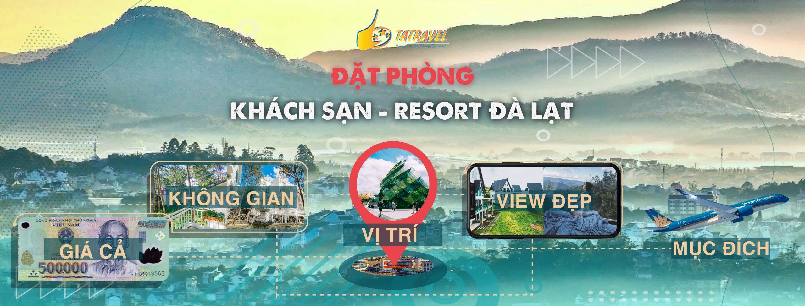 Khách sạn - Resort Đà Lạt
