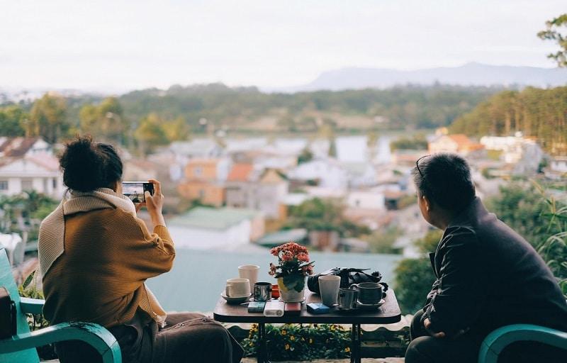 Cafe Đà Lạt Tháng 6