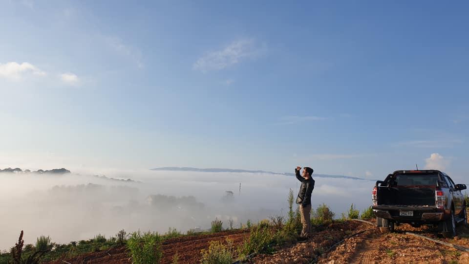 Mộng mơ du lịch Đà Lạt tháng 7 với khu du lịch Đồi Mây