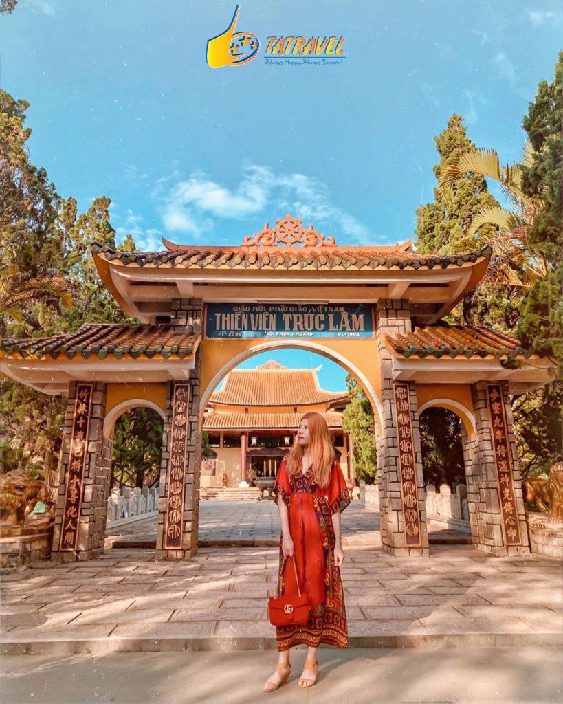 Thiền Viện Trúc Lâm nơi linh thiêng ở Đà Lạt