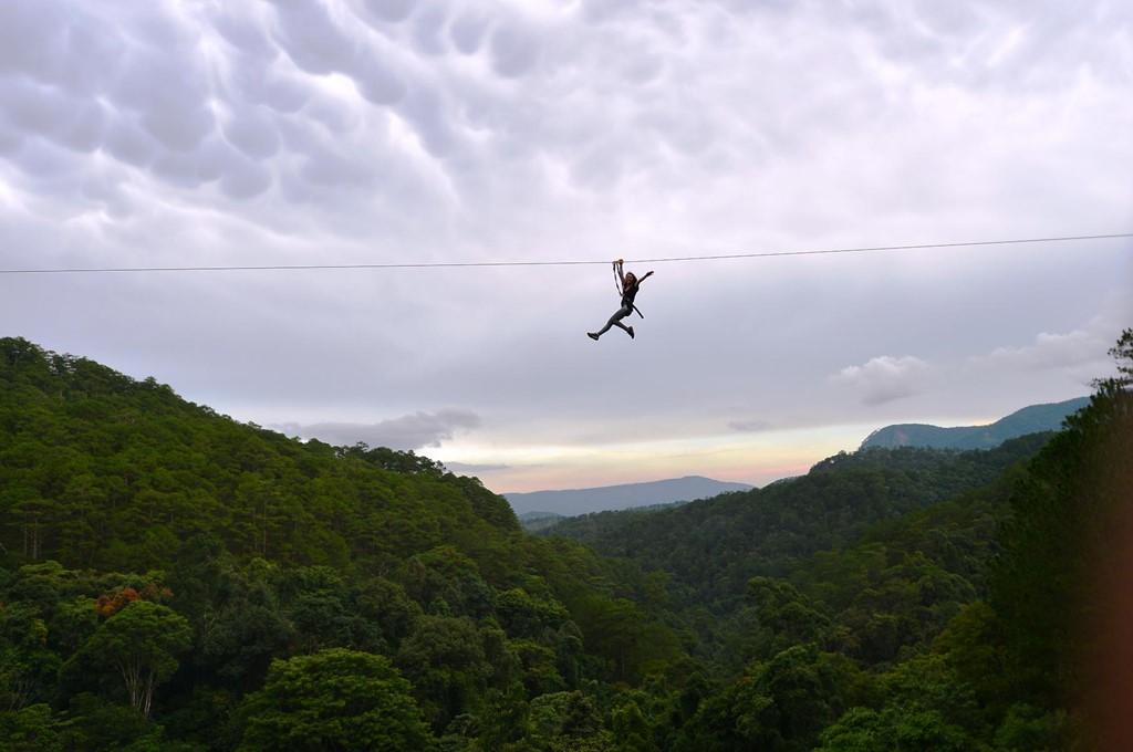 Trò chơi mạo hiểm dành cho những du khách muốn khám phá và trải nghiệm khi đi du lịch Đà Lạt