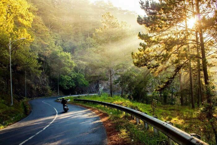 Cung đèo đi đến Khu du lịch thác Prenn Đà La