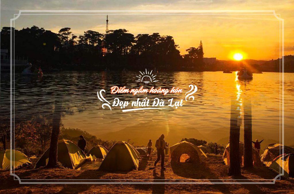 địa điểm ngắm hoàng hôn đẹp nhất ở Đà Lạt