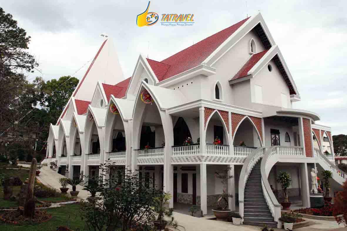 Toplist 9 nhà thờ đẹp nhất Đà Lạt