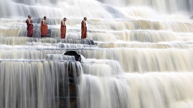 Thác nước 7 tầng đẹp nhất núi rừng - Thác Pongour