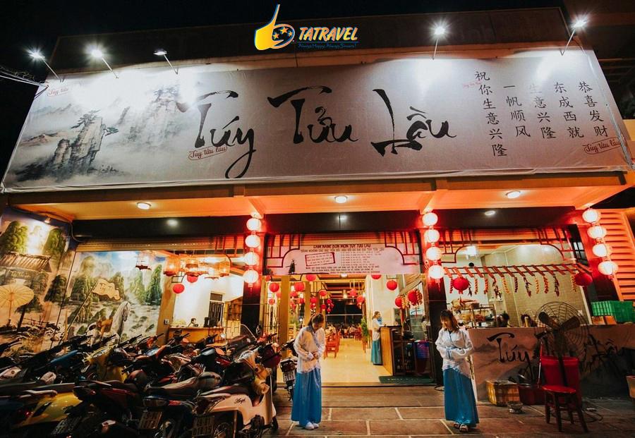 Tửu Tứu Lầu quán ăn mang phong cách kiếm hiệp ở Đà Lạt