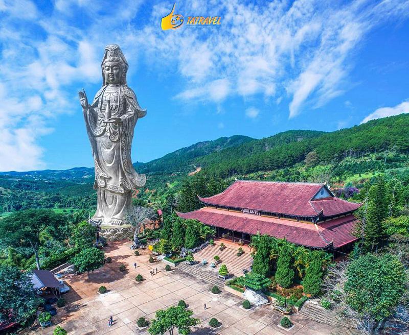 Review chùa Linh Ẩn Nam Ban Lâm Hà - Thác Voi Đà Lạt