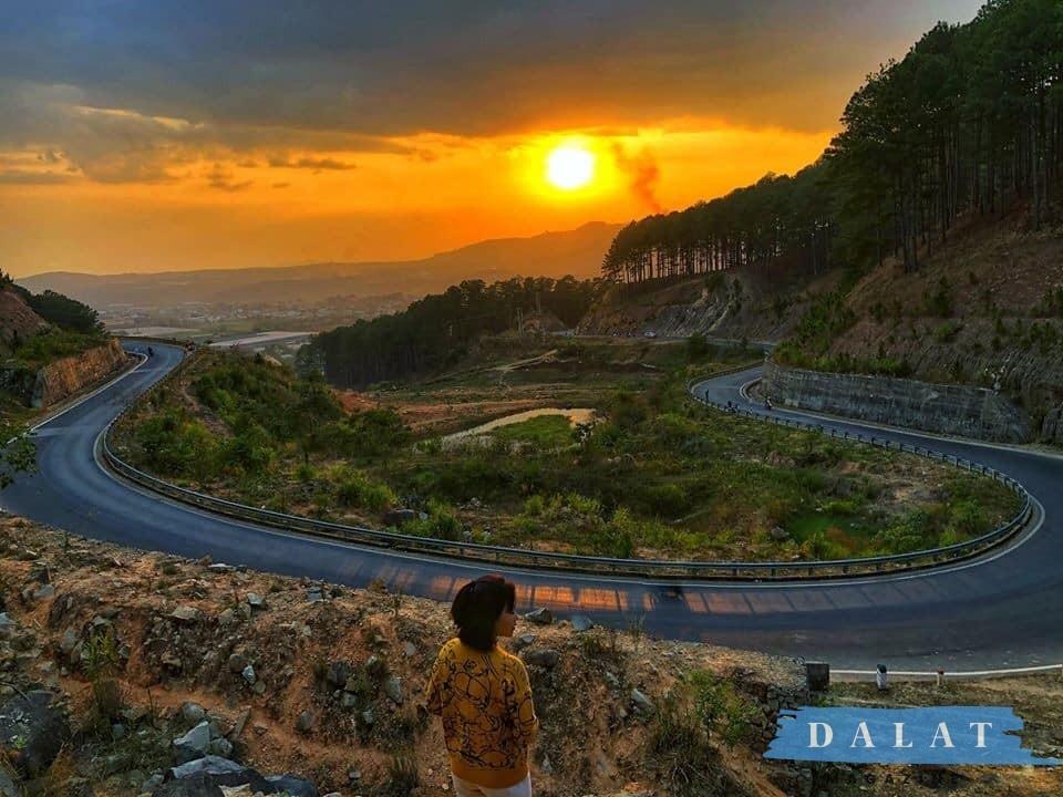 Đèo Tà Nung- Cung đường đèo đẹp nhất Đà Lạt được các bạn trẻ khám phá