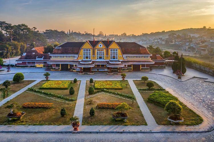 Địa điểm du lịch nổi tiếng ở Đà Lạt - Ga Đà Lạt